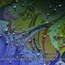cara membuat efek embun tetesan air hujan dengan photoshop