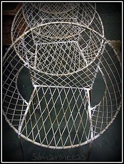 sillas vintage en la feria de desembalaje 2013 en el BEC-