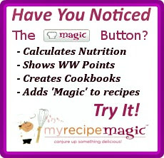 My Recipe Magic Button