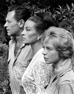 William Holden, Capucine, Susannah York-- The 7th Dawn