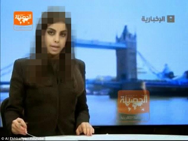 penyampai TV Arab Saudi menjadi wanita pertama yang baca berita tanpa Tudung kepala