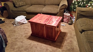 Cedar Chest- Finished