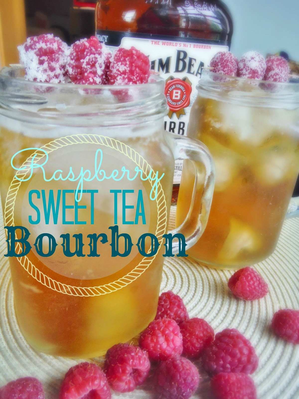 Raspberry Sweet Tea Bourbon