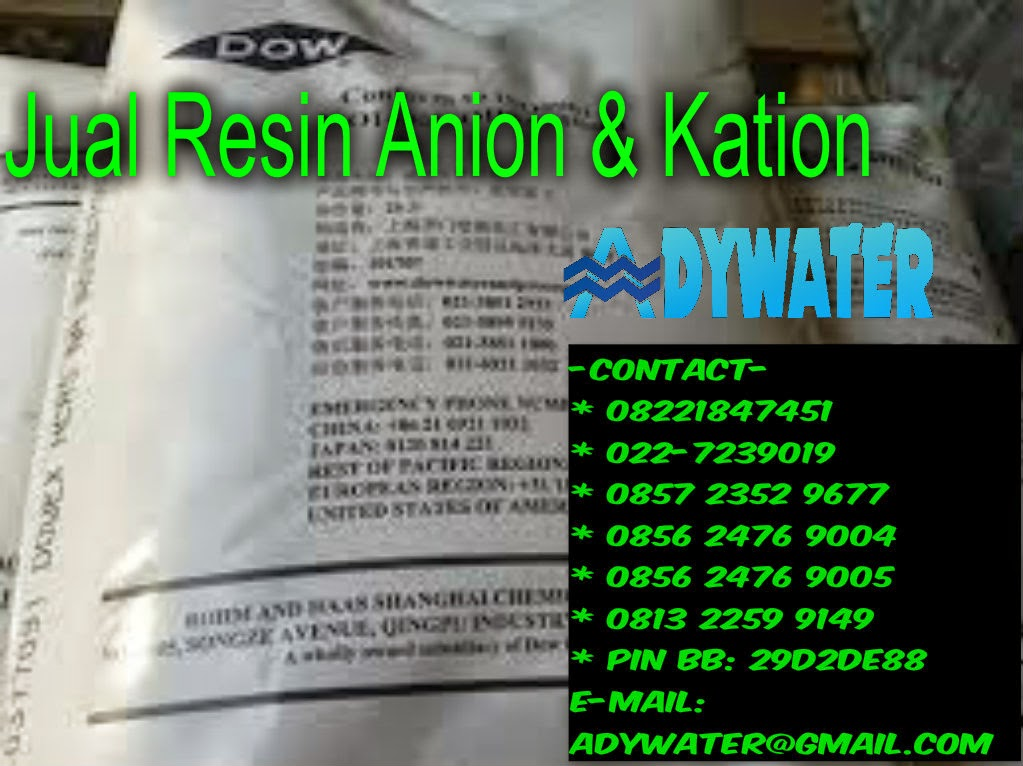 Harga Resin Kation Anion | Jual Resin Anion | Jual Resin Kation