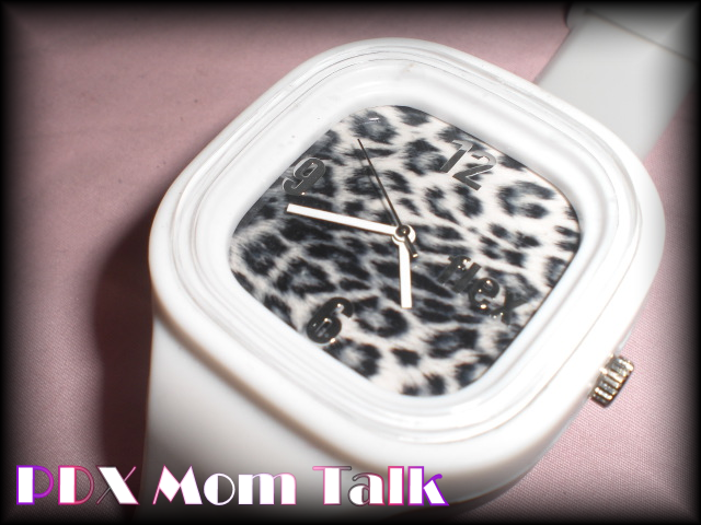 Snow Leopard Flex Watch PDX Mom Talk