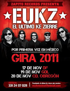 EUKZ en México 2011