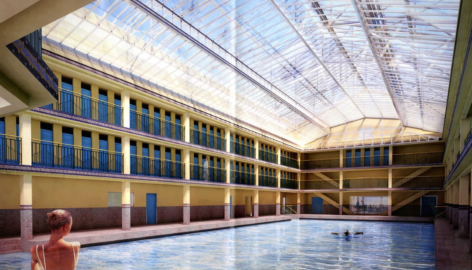 Cbe le blog de c line boulay esp ronnier la renaissance for Renaissance piscine