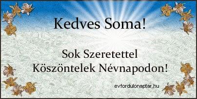 Július 3 - Soma névnap