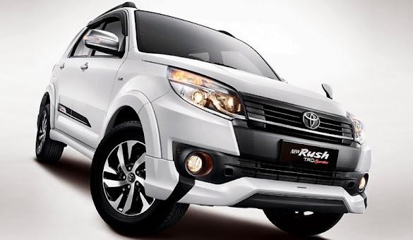 Eksterior Mobil Toyota New Rush Terbaru 2015