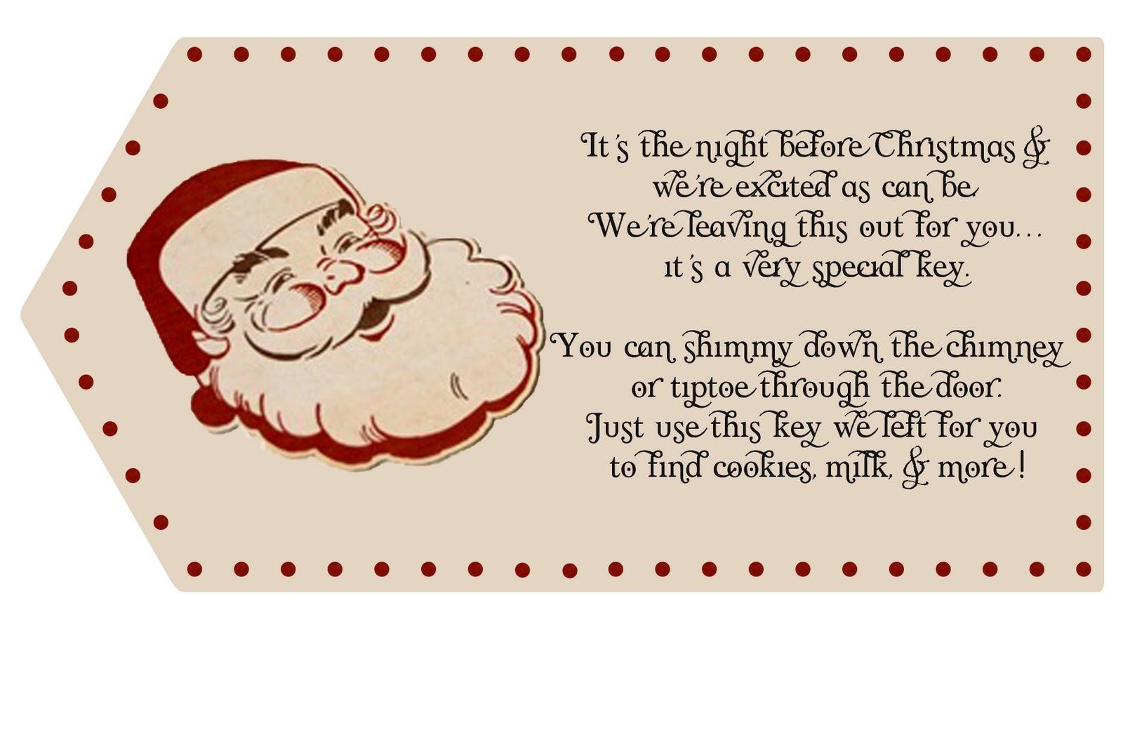 Santa+Key+Template Crafty, Yummy, Home: Santa Key