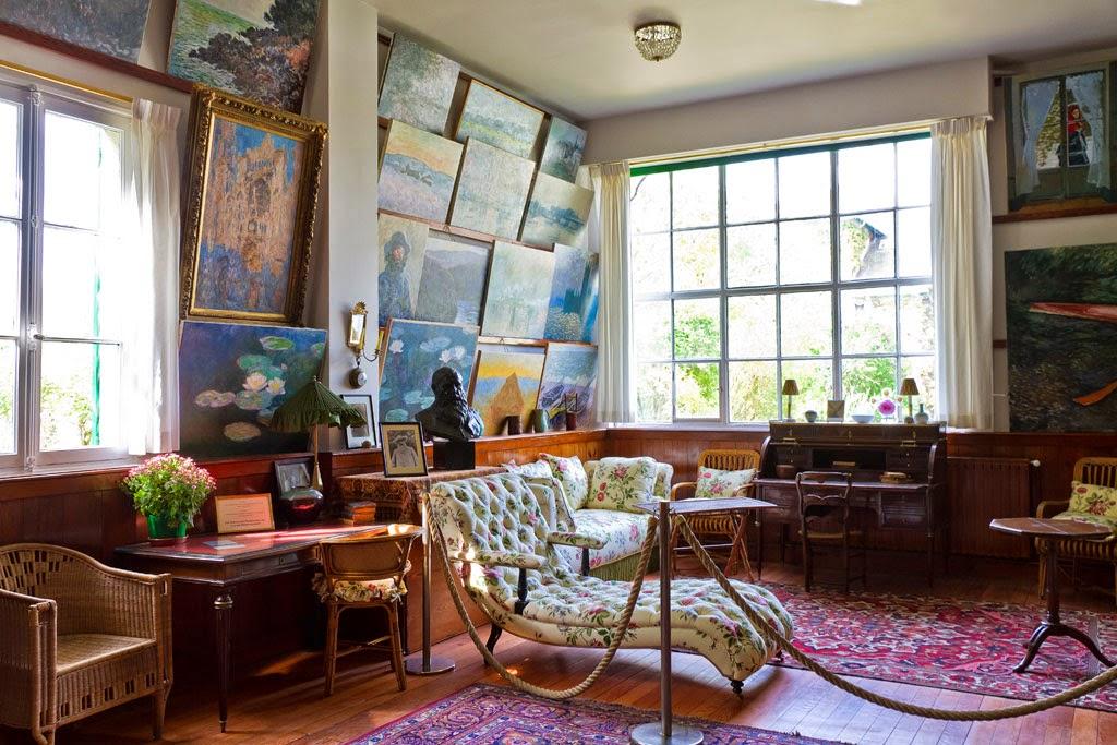 au hasard des arts giverny la maison de claude monet le jardin le bassin aux nymph as. Black Bedroom Furniture Sets. Home Design Ideas
