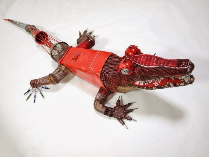 Ideas para hacer animales con material reciclado. | Quiero más