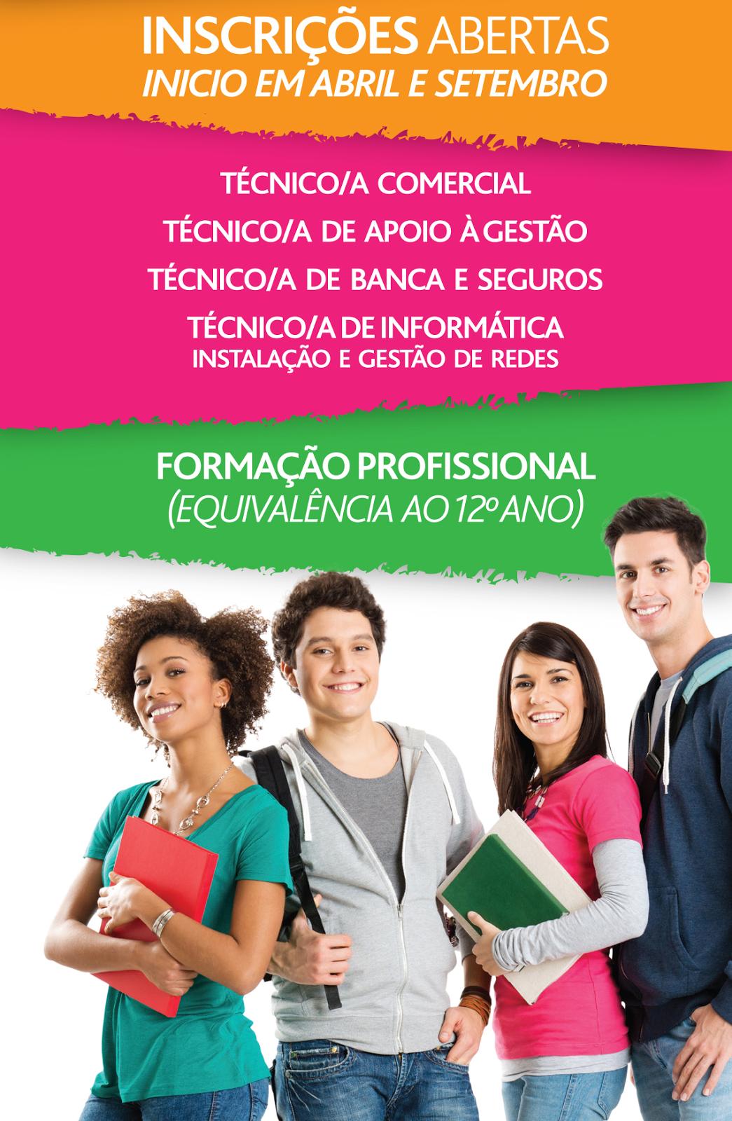 Cursos de Aprendizagem Nível 4 em Lisboa