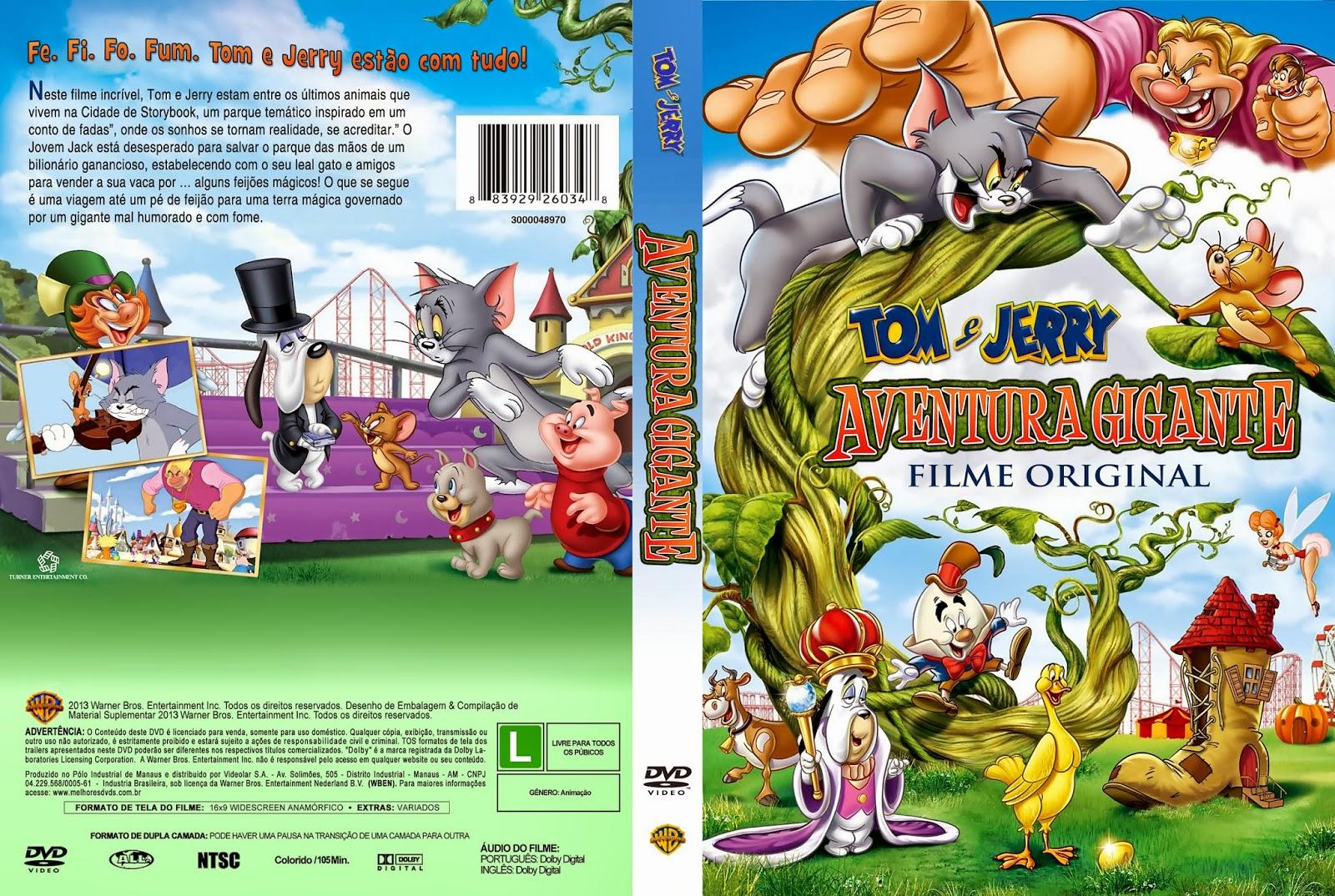 texte: Tom E Jerry Aventura Gigante