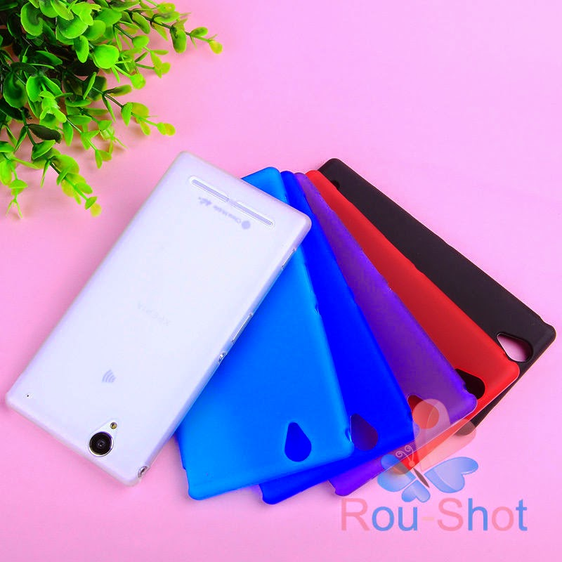 Soft TPU Gel Silicone Rubber Matte Case Cover Skin For Sony Xperia T2 Ultra