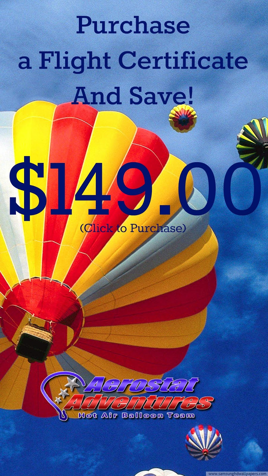 Flight Certificates for a Hot Air Balloon Ride in Orlando