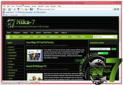 Slim Browser 7.00 Build 027