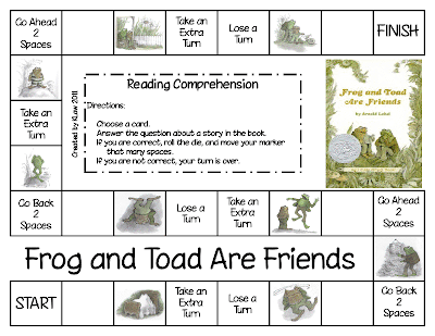 Decisive image pertaining to frog and toad are friends printable activities