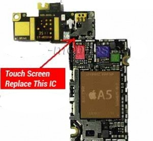 how to fix unresponsive iphone 4s touch screen