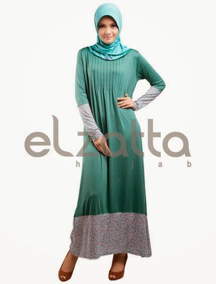 Gambar Model Baju Hamil Batik Gamis Muslim Terbaru 2015