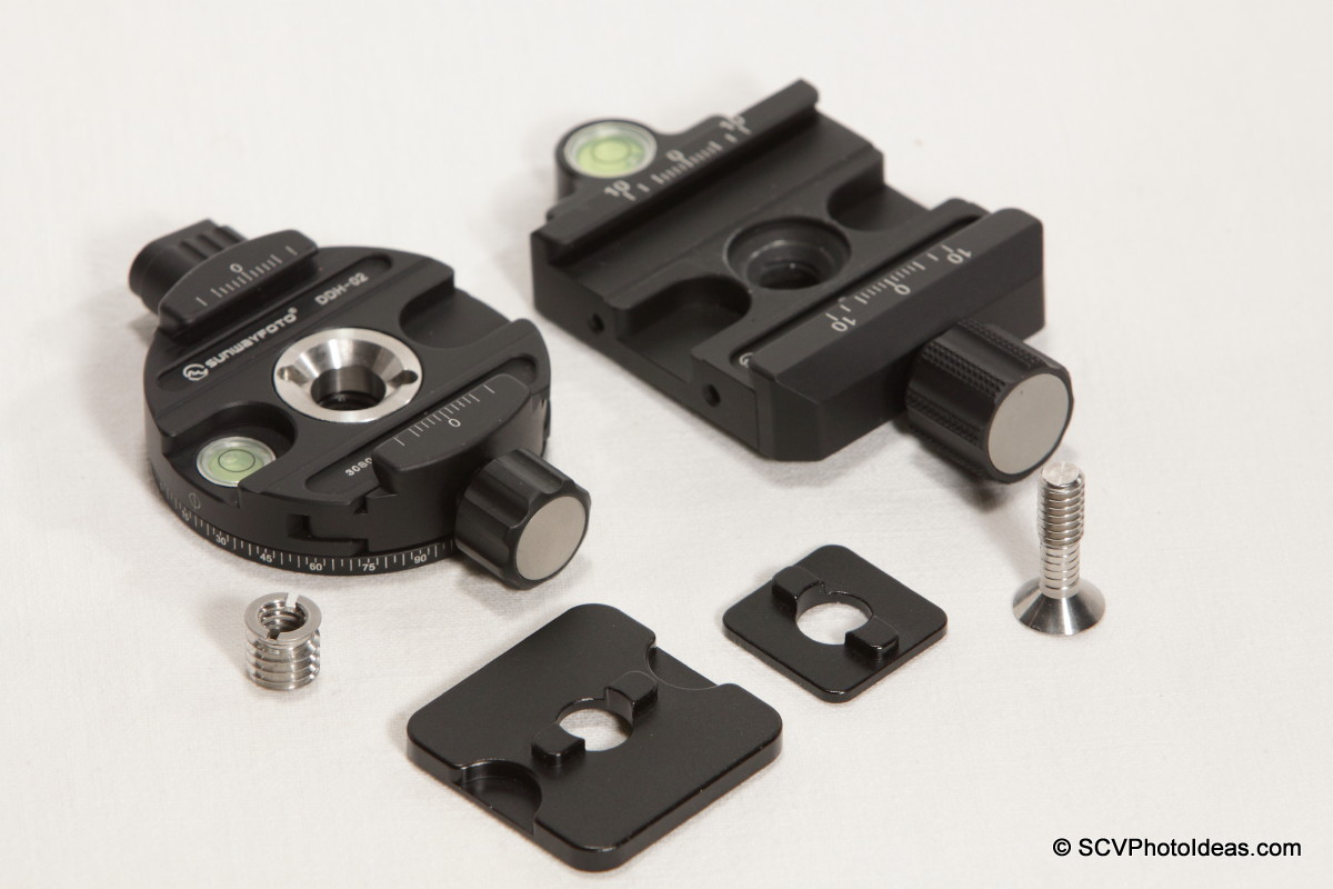 Sunwayfoto MPP-01 + DDH-02 + XB-44 clamps
