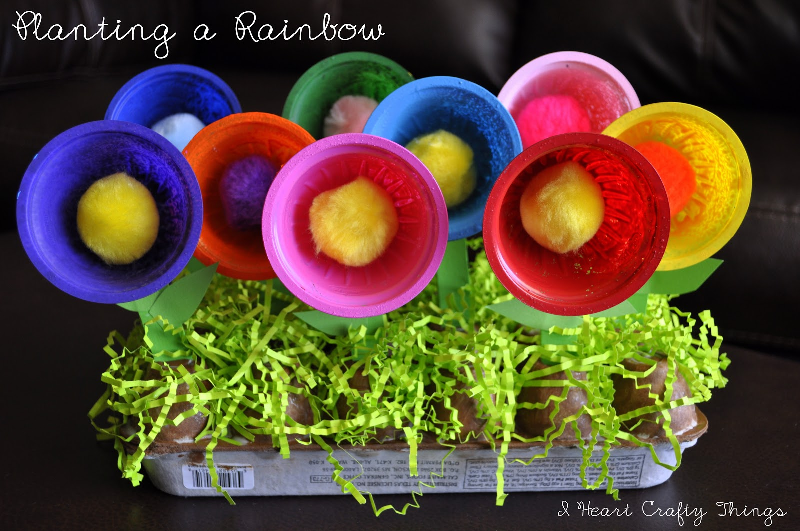 planting a rainbow i heart crafty things