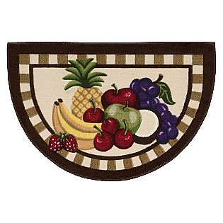 Alyshaan area rugs may 2012 for Kitchen rugs with fruit design