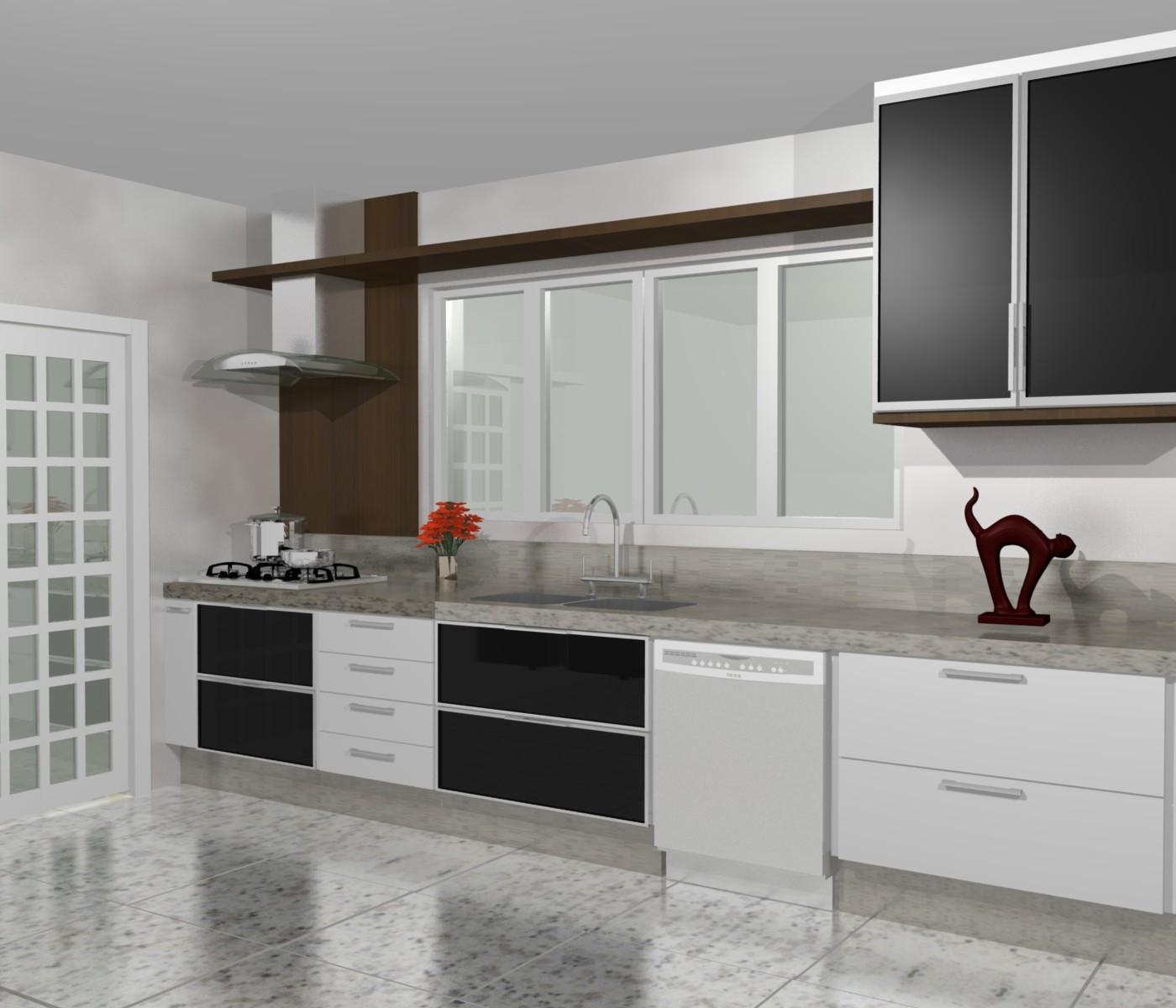 PROJETOS (11) 3976 8616: cozinha planejadas pequenas decorada #644839 1400 1200