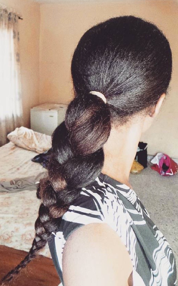 How I Grew Long Natural Hair Using The Indian Oiling Method