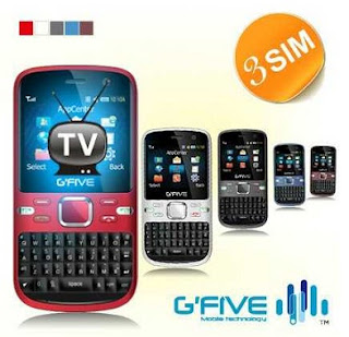 GFive I350 Triple SIM Mobile