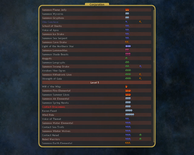 Dominions 4  - Contact Draconian and Call Ally Description