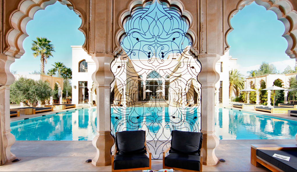 Luxury life design palais namaskar luxury hotel spa for Hotel design marrakech
