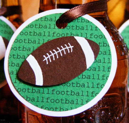 Football drink tags