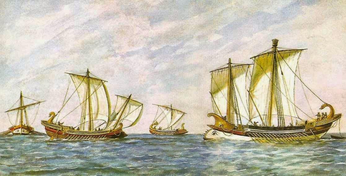 Flota romana y cartaginesa