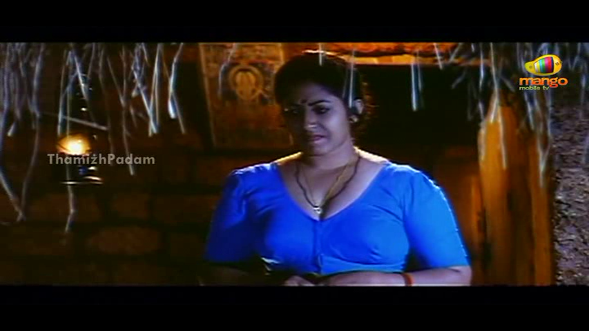 Mallu Aunty Bindu Varapuzha Hot Photos in Blue Blouse - HD
