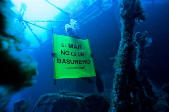 El mar no es un basurero