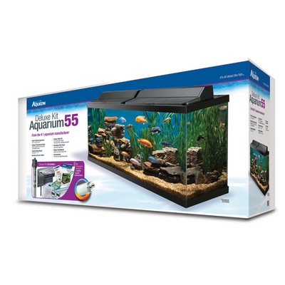 aquabowl review aqueon 55 gallon deluxe aquarium kit