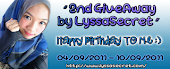 2nd GiveAway by LyssaSecret