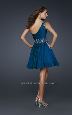Party Kleider - Collection La Femme Fashion 2012 - Teil III