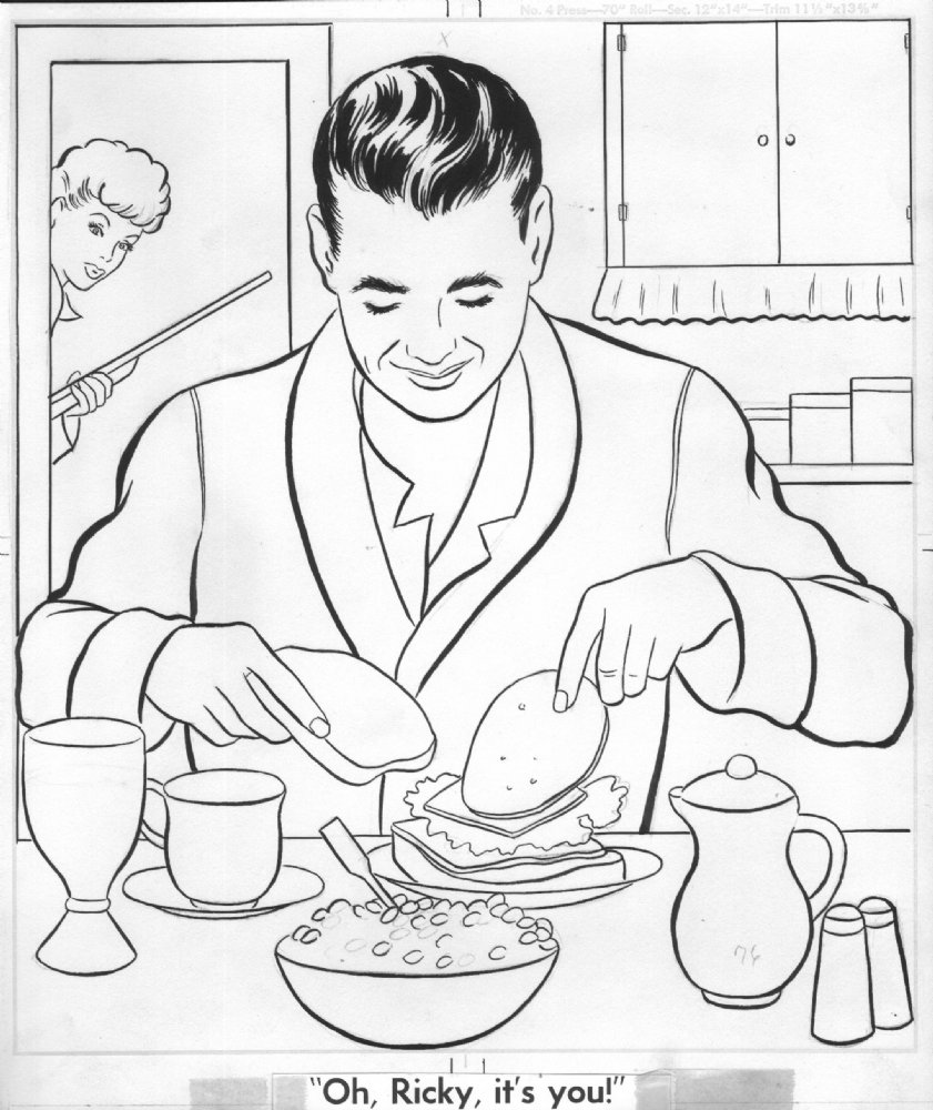 i love lucy coloring pages dartman 39 s world of wonder random coloring page of the week