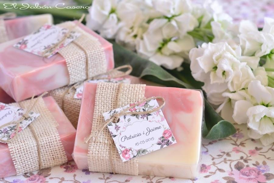 detalles de boda jabones de jazmín