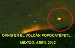 OVNIS Popocatépetl