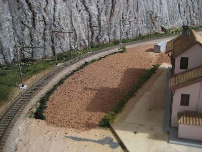 Il plastico di enrico57 la valle del passero for Livellare terreno