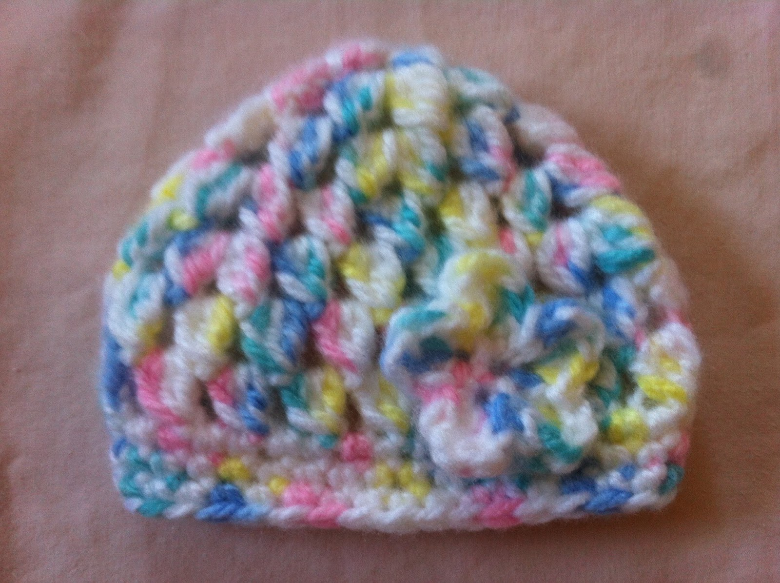 Crocheting Clusters : Crochet Cluster Stitch Preemie Hat - Free Pattern Not My Nanas ...