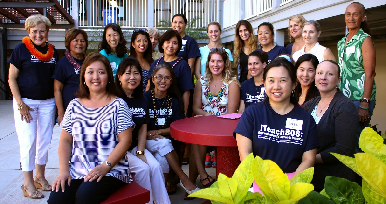 iTeach808 Sacred Hearts Academy and Augustine Educational Foundation