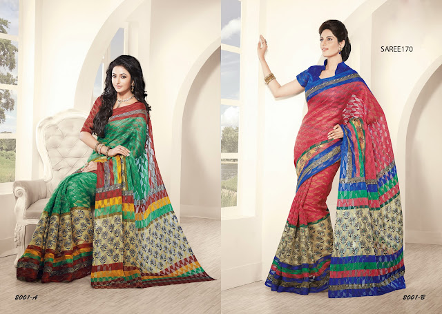 New Arrivals |Buy New Fashionable Printed Saree