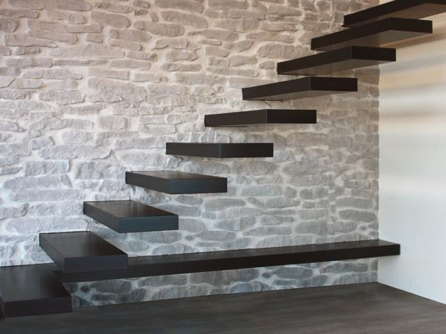 decoracao de paredes de escadas interiores:Minha Escada + Modelos e Dicas! – Decor Salteado – Blog de Decoração