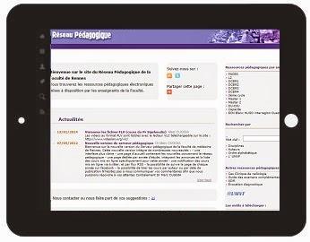 Cours de medecine en ligne reseau pedagogique