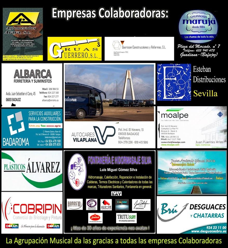 Empresasa Colaboradoras 2020
