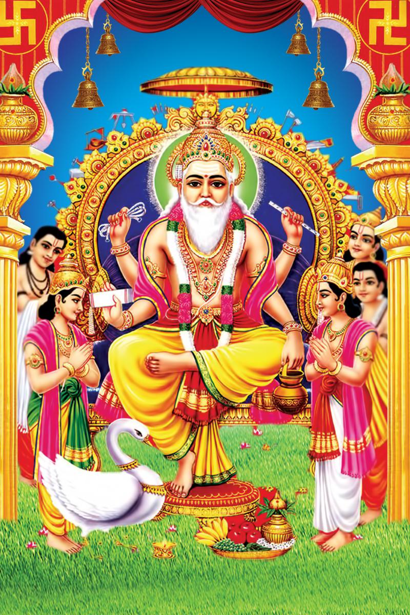 Download Wallpaper Lord Vishwakarma - Lord-vishwakarma-HD-images-and-HD-photos  Trends_383514.jpg